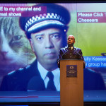 Commissioner Sully Kassam (Aaron Neil) in Great Britain photo by Brinkhoff Mögenburg