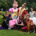 Sleeping Beauty Cast Press launch