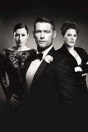 CHICAGO - Hayley Tamaddon as 'Roxie Hart' John Partridge as 'Billy Flynn' and Sam Bailey as 'Mama Morton'  Image by Dewynters