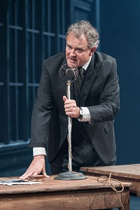2. Hugh Bonneville as Dr Stockmann in Chichester Festival Theatre's AN ENEMY OF THE PEOPLE Photo by Manuel Harlan