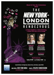 THE NEW YORK-LONDON RENDEZVOUS