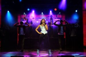 19. Beverley Knight (Rachel Marron) in The Bodyguard at the Dominion Theatre. Photo credit Alessandro Pinna