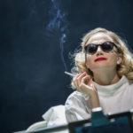 Pixie Lott as Holly Golightly in Breakfast at Tiffany's. Credit Sean Ebsworth Barnes