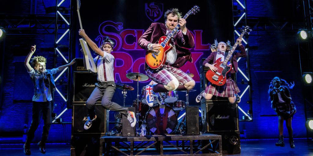 Recast photographs showing School Of Rock @ New London Theatre.<br /> (Taken 8-12-17)<br /> ©Tristram Kenton 12-17<br /> (3 Raveley Street, LONDON NW5 2HX TEL 0207 267 5550 Mob 07973 617 355) email: tristram@tristramkenton.com